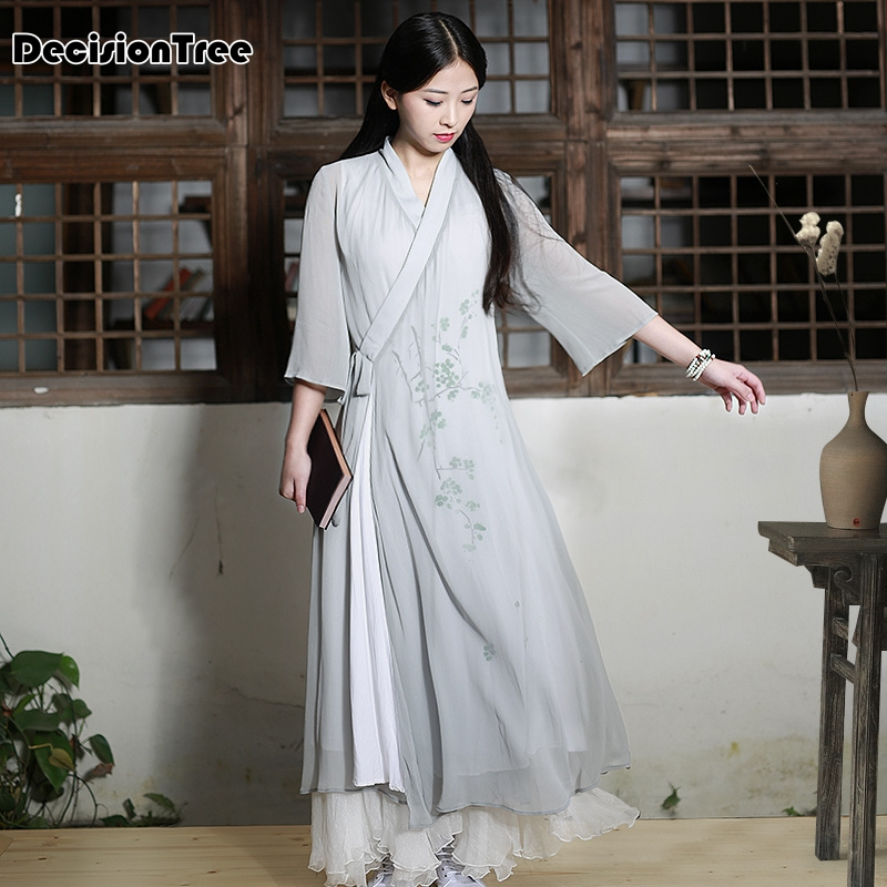 2019 été rétro moderne sexy chinois tang costume qipao costumes dragon phoenix court cheongsam robes chinois traditionnel