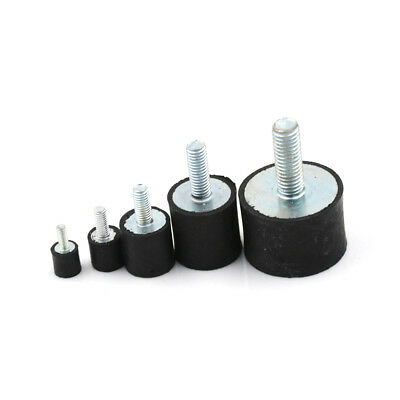 M3 M4 M5 M6 M8 Rubber Shock Absorber Anti Vibration Isolator Mounts Bobbins Tool Parts