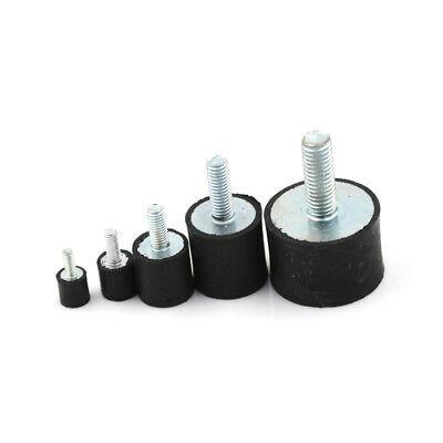 M3 M4 M5 M6 M8 Rubber Shock Absorber Anti Vibration Isolator Mounts Bobbins Tool Parts