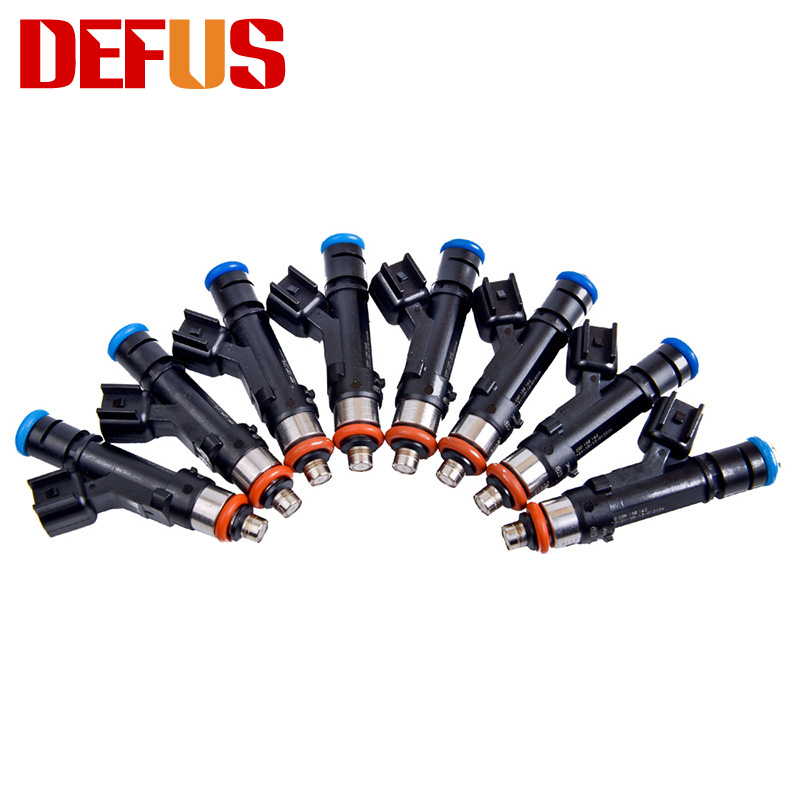 8x Fuel Injector 0280158162 For Escape Fusion Lincoln MKZ Tribute Mercury Mariner Milan 2009-2012 Car Engine Nozzle Injection