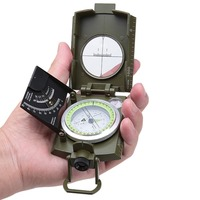 New Multifunctional Camping Compass Brujula Outdoor Tools Bussola Military Professional Survival Kompas Pirate Kamp Magnet Guide