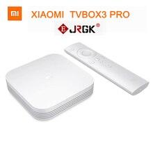 Original Xiaomi Mi Smart TV Box 3 pro 3S Android 4K HD MiTV MiBox 2G+8G Airplay With English Language Kodi App