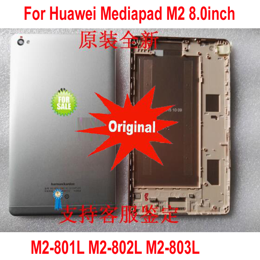 Original Best Battery Back Cover For Huawei Mediapad M2 8.0inch M2-801L M2-802L M2-803L M2-801W Housing Door Rear Case