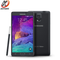 Original T Mobile Version Samsung Galaxy Note 4 Note4 N910T LTE Smartphone 5.7 inch 16MP 3GB 32GB GPS NFC Mobile Phone