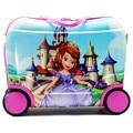 Girl Sofia Travel Locker Handbag Child Toy Luggage Doc Mcstuffins Suitcase Kid Can Sit To Ride Check Box Boarding Box