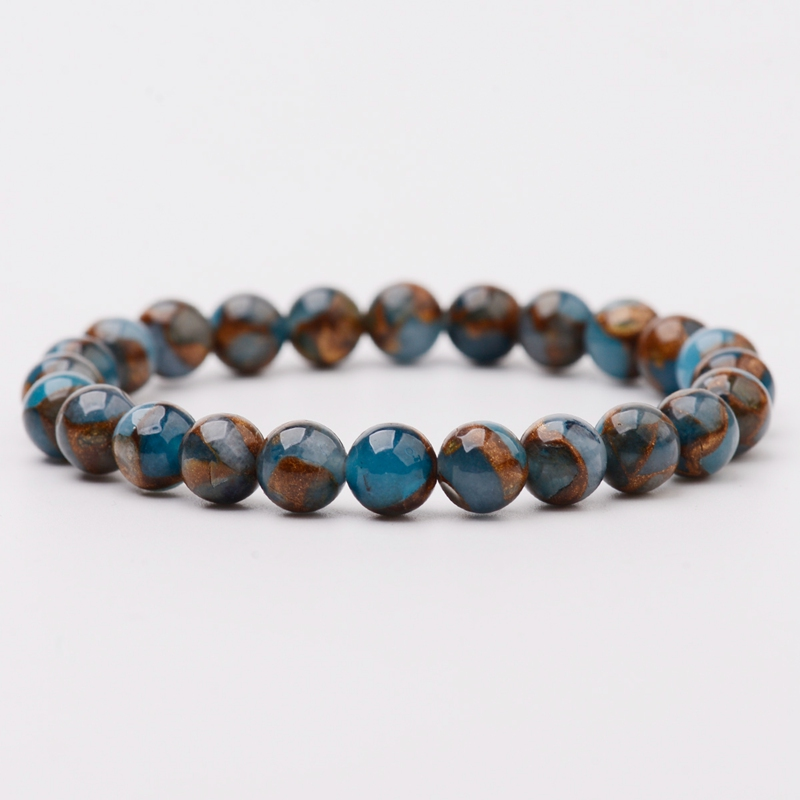 2020 New Summer Style Natural Stone Beads Bracelet Aventurine/Tiger Eye Beaded Stretch Bracelets Bangles Women Men AB176