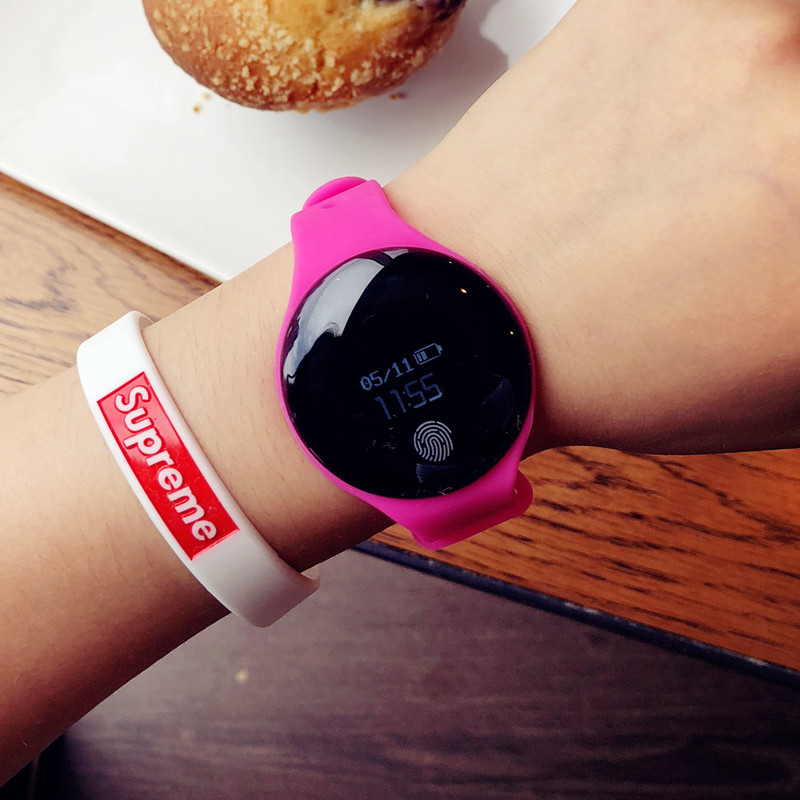 Men Sports Bluetooth Smart Wristband Fitness Bracelet Pedometer Cicret Bracelet Watch Women Smartband Activity Tracker for Phone