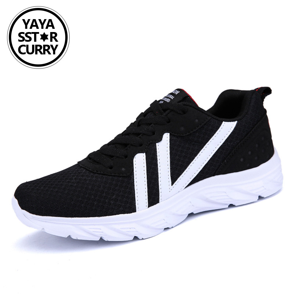 2018 Sport Running Shoes Woman Outdoor Breathable Comfortable Couple Shoes Lightweight Athletic Mesh Sneakers Women Shoes