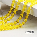 Free Shipping~! 3A+ Citrine Color Round Crystal Glass Beads Loose for JDIY bracelet necklace jewelry accessories.4mm~10mm