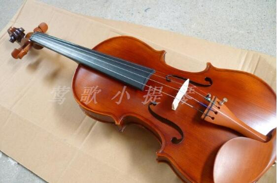 Free shipping 4/4 full size high quality  spruce wood violin send rosin,case ,rosin  bow for beginner overflow free shipping high quality 4 4 violin send violin hard case handmade white black electric violin with power lines