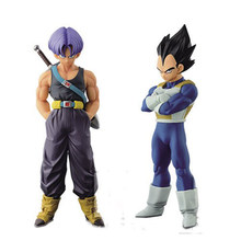 15 centímetros Dragon Ball Z Trunks Vegeta 1/8 Scale PVC Action Figure Collectible Modelo de Pai E Filho Brinquedos DragonBall Figura juguetes(China)