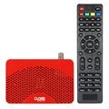 Dvb-s2 Digital Video Broadcasting receptor TV Box Full HD 1080 P de la caja superior con DVB-S estándar mando a distancia para HDTV