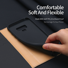 Luxury Genuine Leather Wallet Case For Samsung Galaxy Note 9