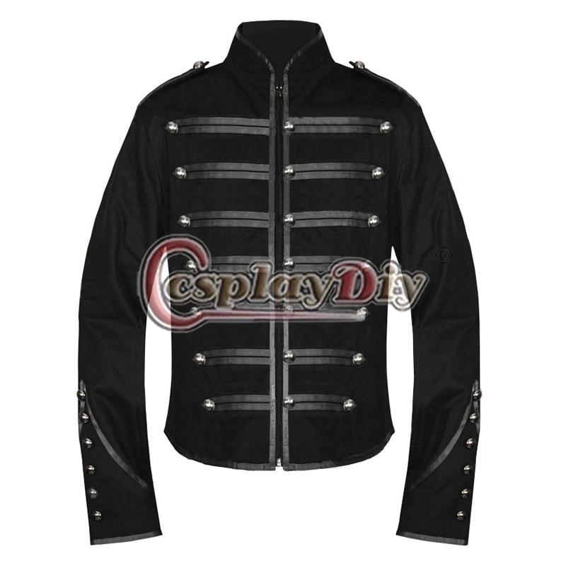 Compra personalizado chaquetas militares online al por for A chemical romance salon