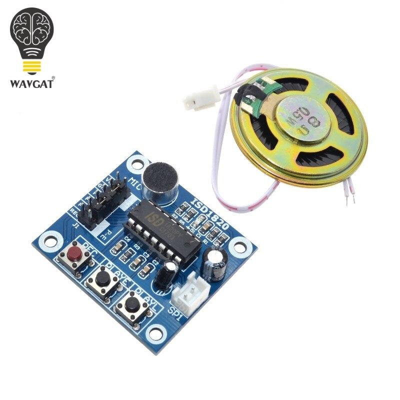 ISD1820 Recording Module Voice Module The Voice Board Telediphone Module Board With Microphones + Loudspeaker For Arduino