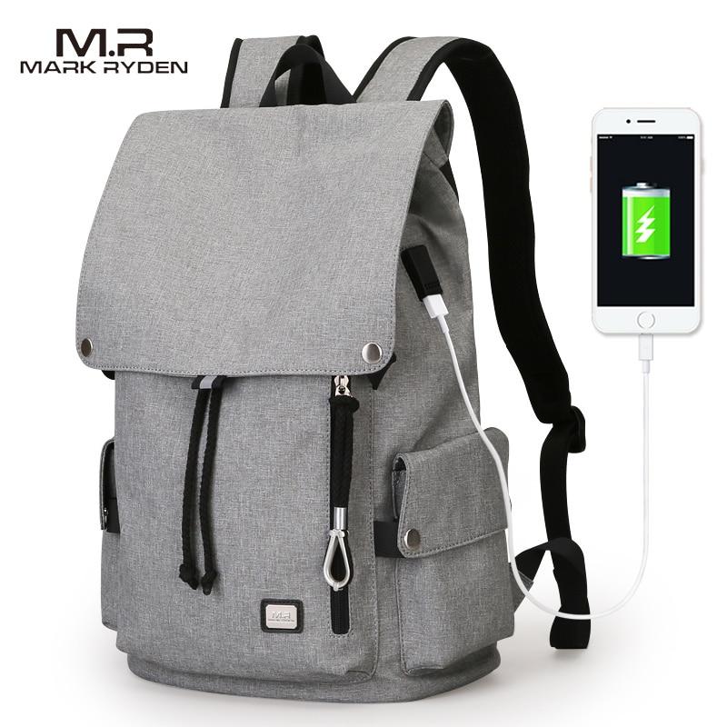 MarkRyden 2017 New Men Backpack Bag Large Capacity Bag For Student School Bag Water Repellent Short