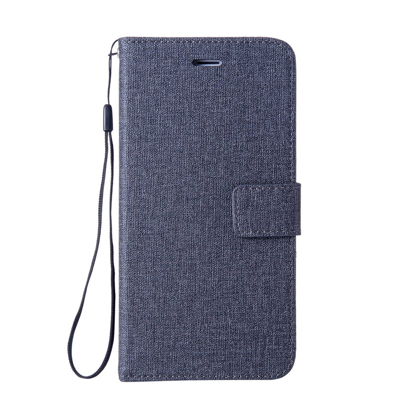 Fabric Leather Wallet Case For Google Pixel 2 XL Flip Cover Busines Card Holder Flip Coque For Google Pixel 2XL Case (M1030)