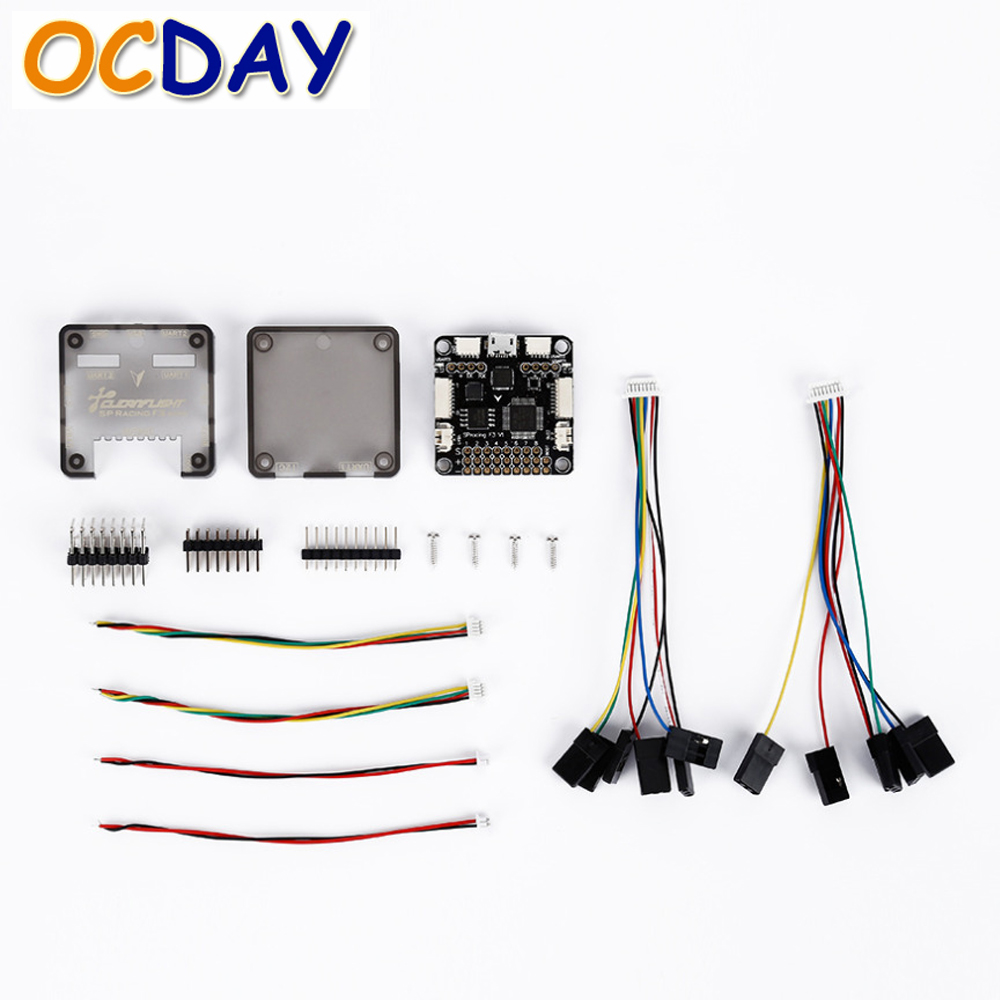 1pcs OCDAY Acro Deluxe SP3 Racing F3 Flight Controller Board For Aircraft FPV Quadcopter wholesale 1pcs ocday acro deluxe sp3 racing f3 flight controller board for aircraft fpv quadcopter