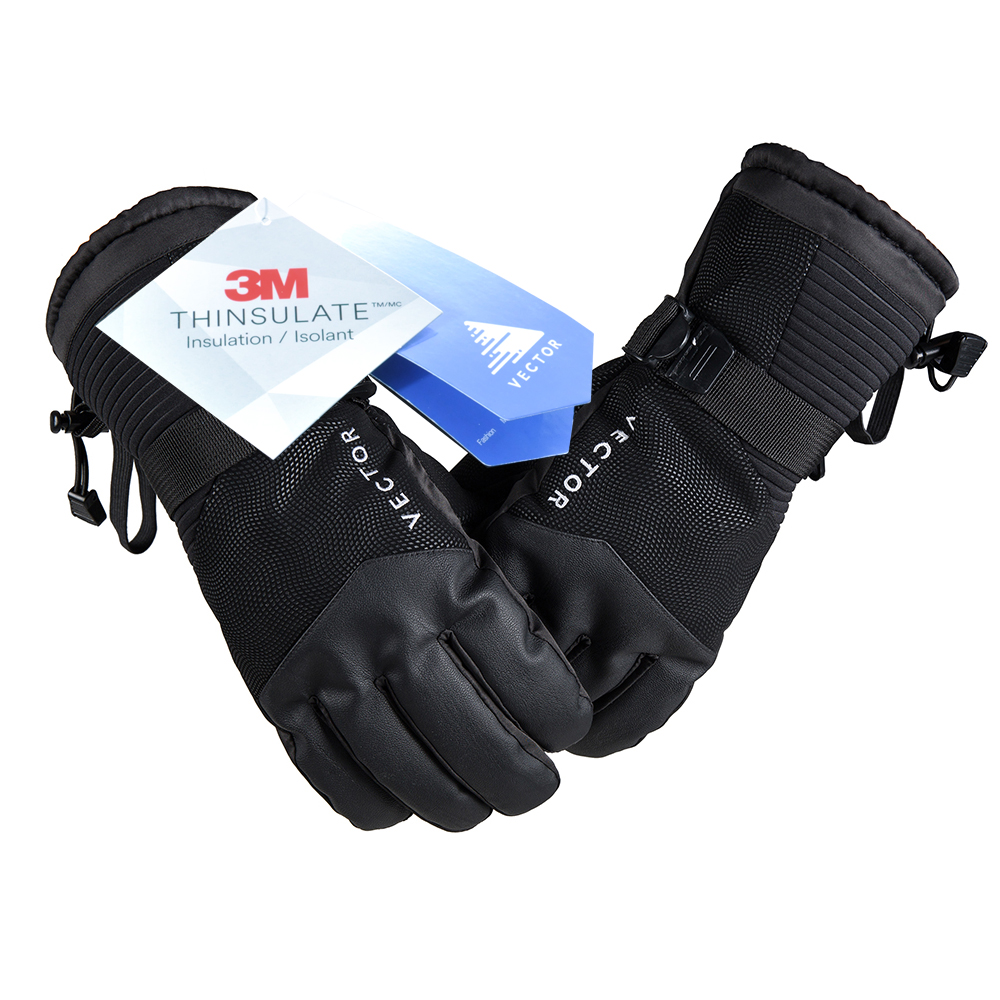 VECTOR Screen Touch Ski Gloves Warm Waterproof Windproof Men Women Skiing Gloves Snowboard Snowmobile Winter Sports Gloves цена