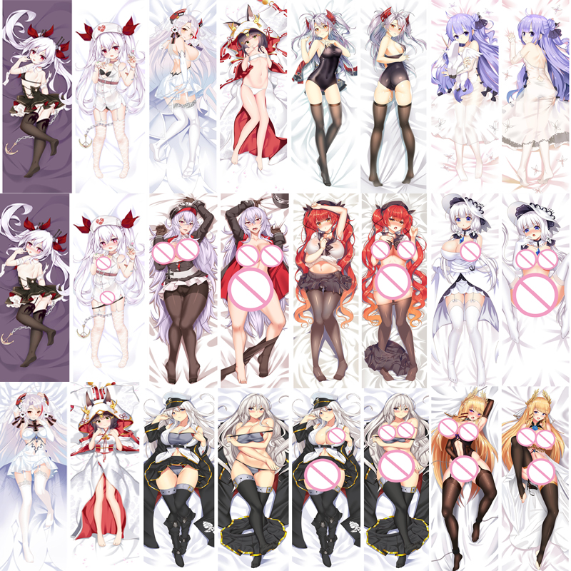 Azur Lane Dakimakura Vampire Anime Girl Hugging Body Pillow Case Cover 2