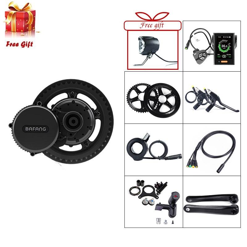 Bafang BBS02B 48V 500W Mid Drive Motor Electric Bike Conversion Kit DPC18 850C P850C 500C C965