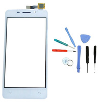 Front Outer Glass Lens White Touch Screen Digitizer Replacement Sensor With Free Toolkit For Doogee LEO