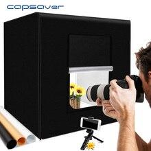 Capsaver M40II Di Động Hình Phòng Thu Hộp Đèn Led 40 Cm Gấp Lightbox Chụp Ảnh Lều Softbox Bộ Trang Sức Đồ Chơi chụp Hình