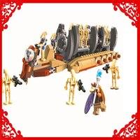 BELA 10374 Star Wars 7 Battle Droid Troop Carrier 565Pcs Building Block Compatible Legoe Toys For