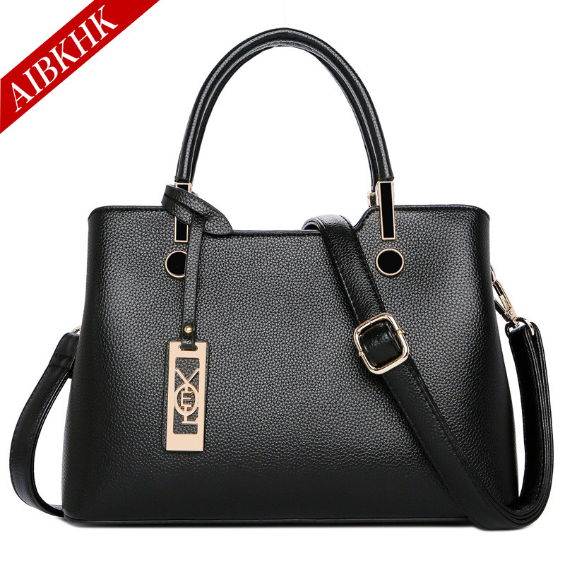 2018 New Simple Sequined Women Leather Handbags High Quality Cow Split Leather Bags Handbags Women Famous Brands Bolsa Feminina icev new brands simple classic female cow leather designer handbags high quality genuine leather handbags women leather handbags