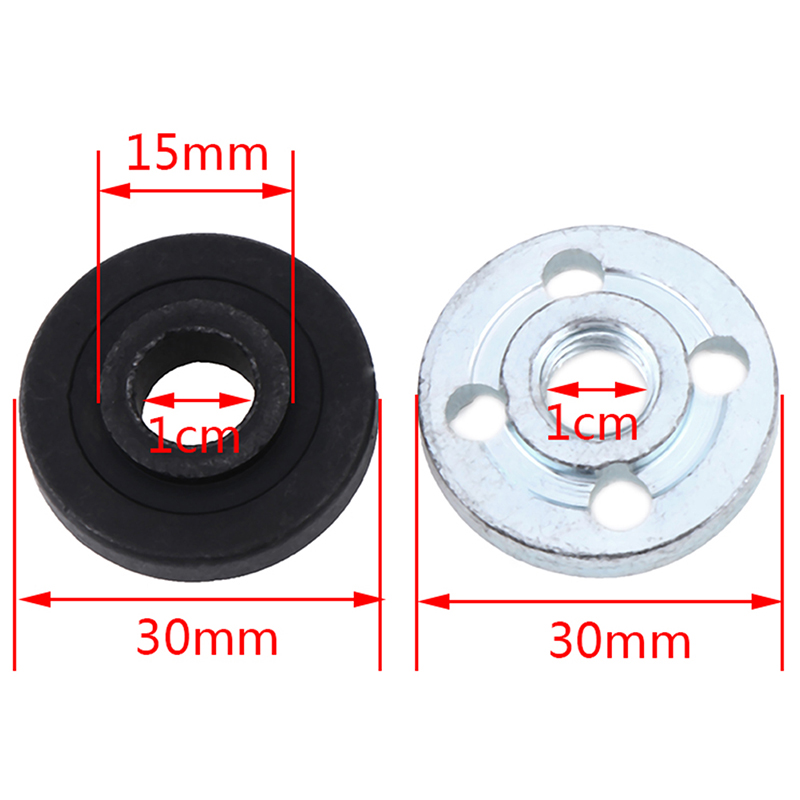 2PCS/Set Angle Grinder Replacement Part Inner Outer Flange Set Fits For Makita 9523 Angle Grinder Motor Rotor