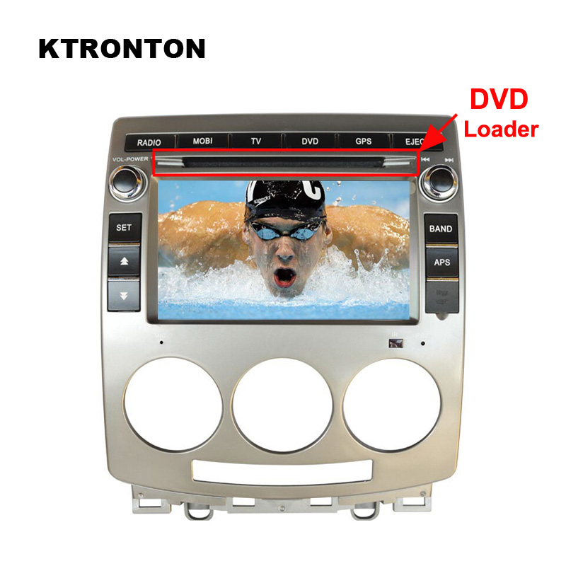 Real Car DVD Multimedia Player for Mazda 5 2005 2010 with Radio Tape Recorder, GPS Navigation, Bluetooth + Free 8G Map Card !!!