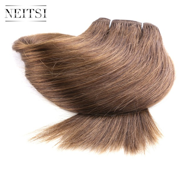 Neitsi Straight Brazilian Remy Human Hair Extensions 14 35 Cm 110g