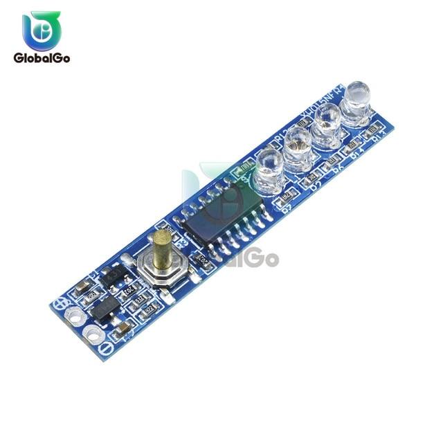 1S 2S 3S simple 3.7V 18650 batterie au Lithium indicateur de capacité Module % testeur de niveau de puissance LED panneau daffichage