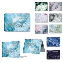 цена на New marble Laptop Case For Apple MacBook Air  11,13 Pro Retina 12 13 15 Touch Bar for macbook Air 13 Pro 13 15 case
