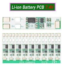 10x 7.4V High-Current Over-Charge Protection Board PCB PCM for Rechargeable Li-ion 18650 Battery Pack DIY 2S Series Connection стоимость