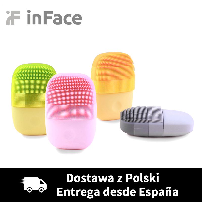 Xiaomi inFace Smart Sonic Clean Electric Deep Facial Cleaning Massage Brush Wash Face Care Cleaner Rechargeable