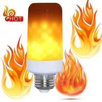 RAYWAY 3 Modes LED Flame Lamp E14 E27 2835SMD 7W Flickering Emulation Decorative Lamp Flame Fire