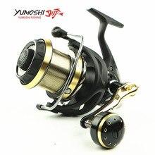 2017 Original YUMOSHI WF4000, WF6000, WF8000, WF9000 moulinet de pêche en rotation 9   1BB 5.5: 1 Saltewater carpe longue bobine de coulée