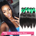 8A Peruvian Virgin Hair Silky Straight Best Quality Hair Weave 8-40 Peruvian Virgin Hair 5 Bundles On Sale Halo Lady Hair Deal