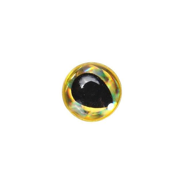 200pcs/lot 3D Fishing Lure Eyes 5mm Soft Molded Epoxy Resin Holographic  Fishing Lure Eyes Fly lure accessories gold/silver/Red-in Fishing Lures  from
