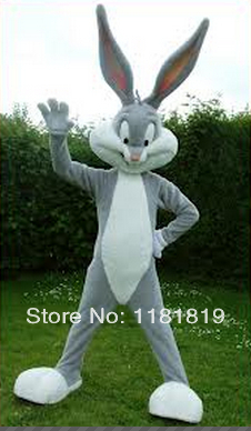 MASCOT kanin maskot kostym anpassad tecknad fantasi kostym anime cosplay kit mascotte karneval kostym
