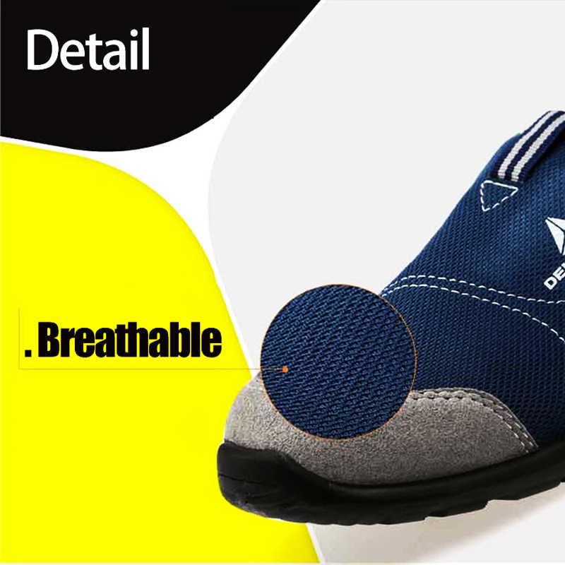 MODYF Erkek Çelik Ayak Emniyet iş ayakkabısı Erkekler Hafif Nefes Anti-Smashing Kaymaz Anti-statik Koruyucu ayakkabı