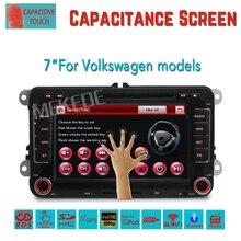 2Din de dvd del coche de navegación gps para VW Volkswagen Jetta Bora Golf 5 6 Tiguan Passat CC Polo Sharan Amarok Caddy con Una Función de Canbus