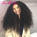 2016 Summer New Malaysian Wigs Human hair Curly 180% density Silk top Virgin Full Lace Wig and Lace Front Wig with baby hair