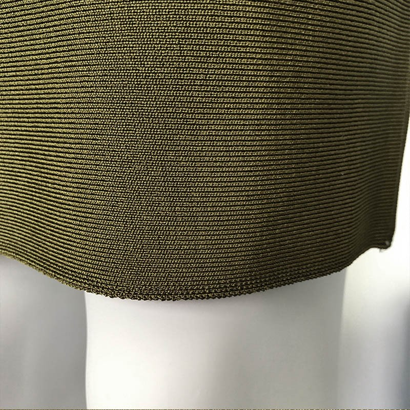 3fb9def1e2 Womens Dresses New Arrival 2016 Olive Green Long Sleeves Mesh Bandage Dress  Sexy Bodycon Dress Wholesale HL-in Dresses from Women s Clothing on ...