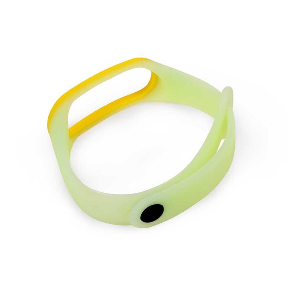 2018 заменить Мужские t Ремень для Xiaomi mi Band 3 mi Band 3 браслет фосфоресцирующий люминесцентный флуоресцентный браслет мужские и женские аксессуары