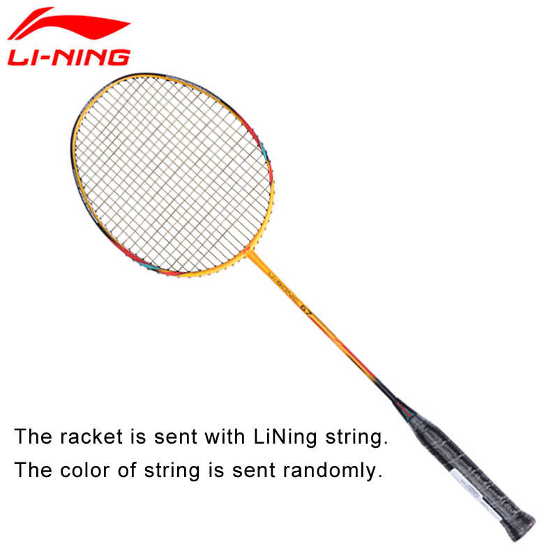 Li-Ning U-Sonic 67 Badminton Rackets With String Professional Carbon Fiber LiNing Rackets AYPM228 ZYF212