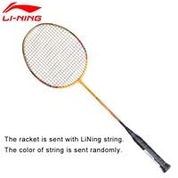 Li Ning U Sonic 67 Badminton Rackets With String Professional Carbon Fiber LiNing Rackets AYPM228 ZYF212