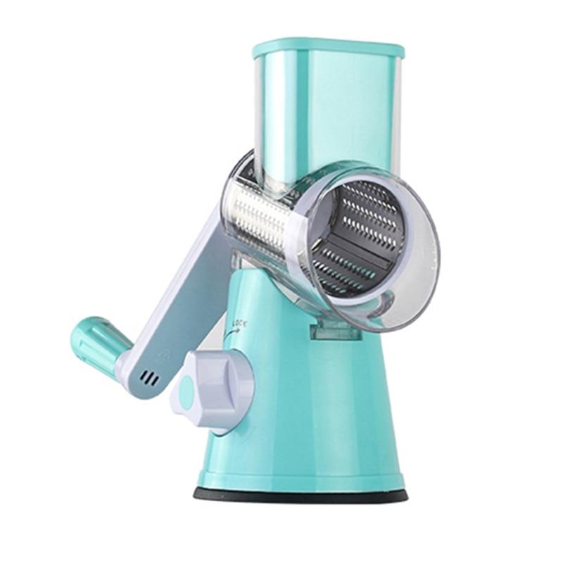 Blue round slicer