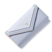 Высокое качество PU кожаный бумажник модные женские туфли Женские Кошельки дизайнерский бренд с длинным клатч кошелек женский держателя карты Портмоне